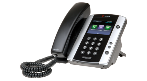 VVX 501 Desktop Phone Gigabit with HD Voice 4