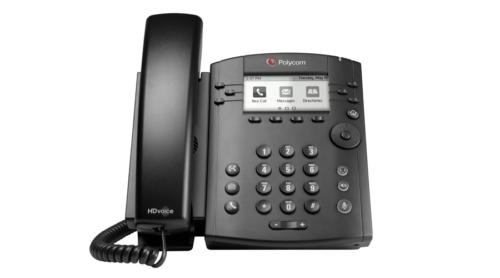 VVX 311 Desktop Phone Gigabit with HD Voice 3