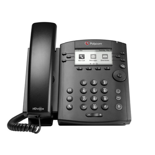 VVX 311 Desktop Phone Gigabit with HD Voice 9