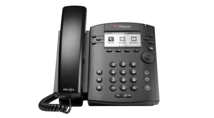 VVX 311 Desktop Phone Gigabit with HD Voice 1